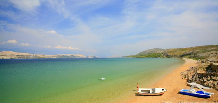 Pláž v Mandre