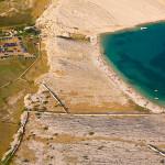Metajna – pláž Ručica
