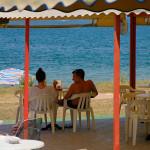 Povljana - bar na pláži