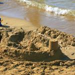 Stará Novalja - písečná pláž Planjka