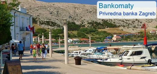 Bankomaty Privredna banka Zagreb