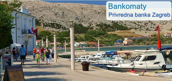 Bankomaty Privredna banka Zagreb - Pag