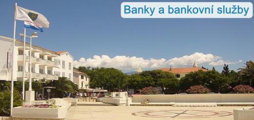 Banky a bankovní služby