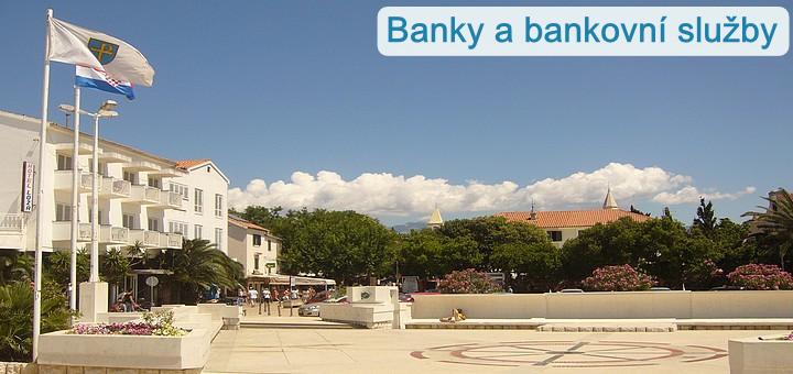 Banky a bankovní služby na Pagu