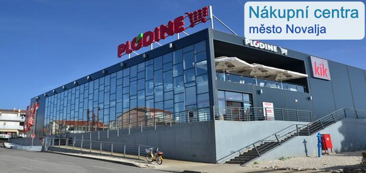 Nákupní centra město Novalja - Pag