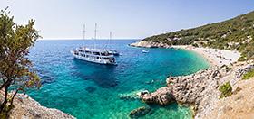 Dovolená na lodi v Chorvatsku